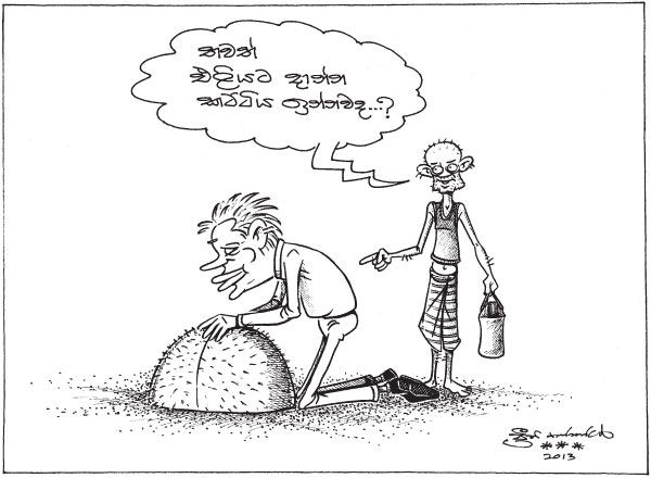 Sri lanka cartoon 2013 06 20