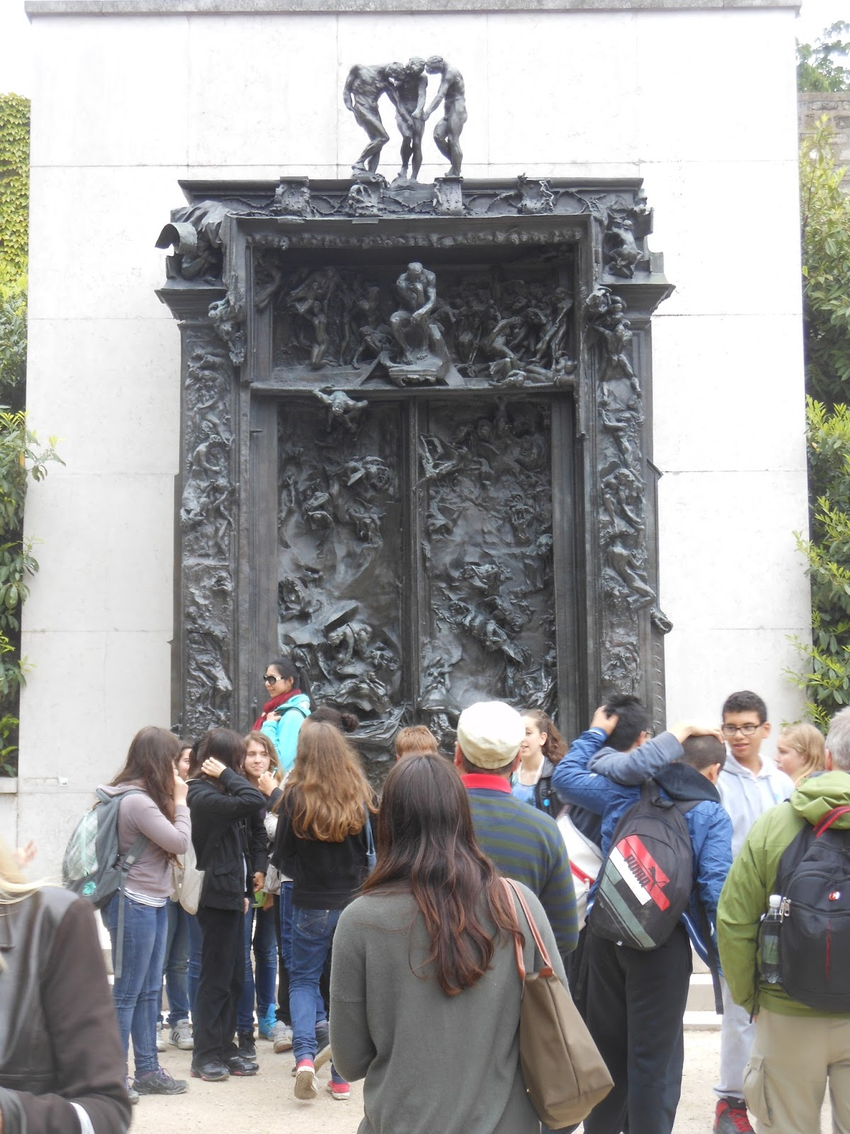 Although Rodin never installed his massive Gates of Hell doors at the museum that commissioned them the project was a fertile ground for many other ... & Art With a Needle: Paris museums 14 -- Rodin spinoffs