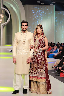 Nadia hussain Panteen Bridal Couture 2013