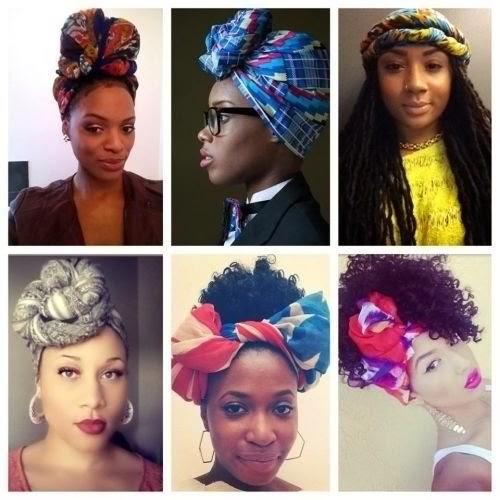 hair challenges id es coiffure cheveux cr pus attach foulard aka headwrap. Black Bedroom Furniture Sets. Home Design Ideas