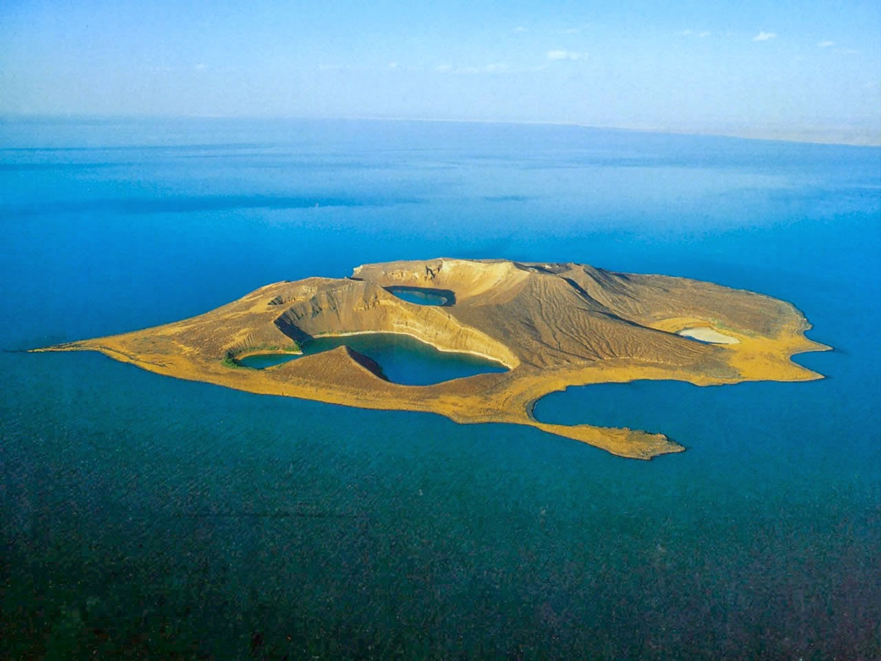 Unidentified island in Lake Turkana.