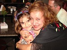 com Ana Clara, no Rio