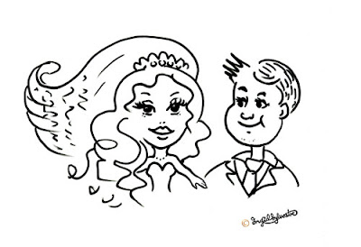 Wedding Entertainment Durham North East UK, Caricatures at Weddings, by Ingrid Sylvestre Durham caricaturist