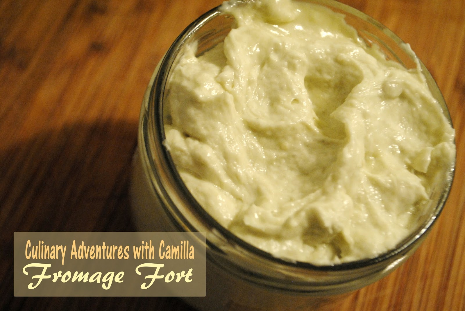 Culinary Adventures with Camilla: Cook the Books: Fromage Fort