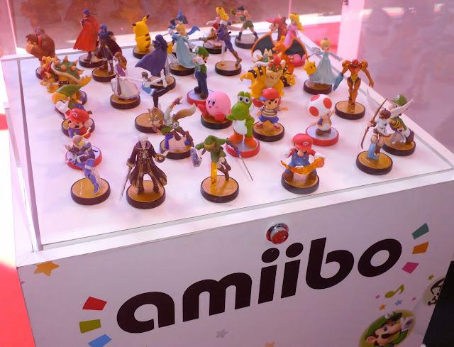 amiibo figuras