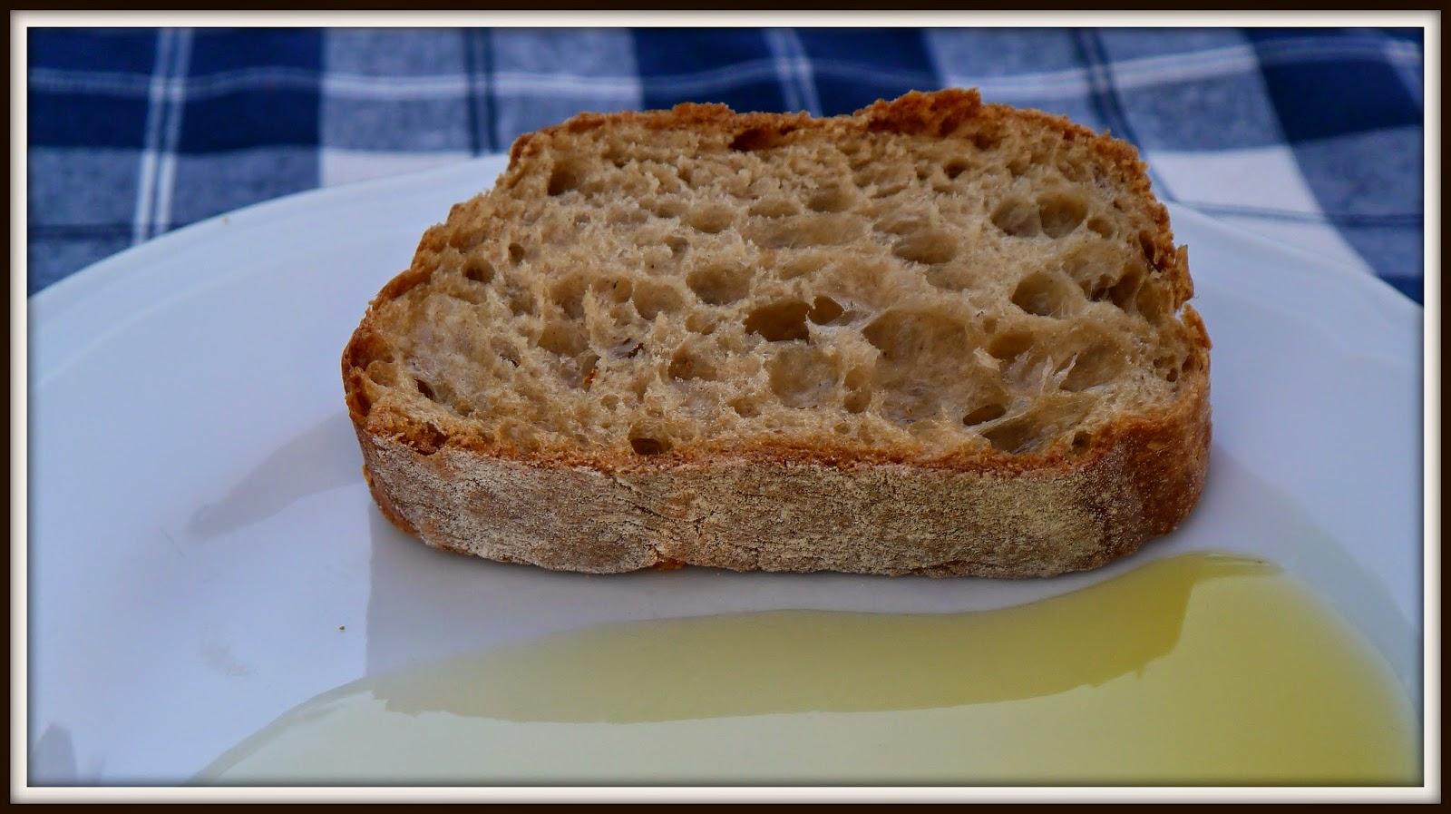 chleb z oliwą