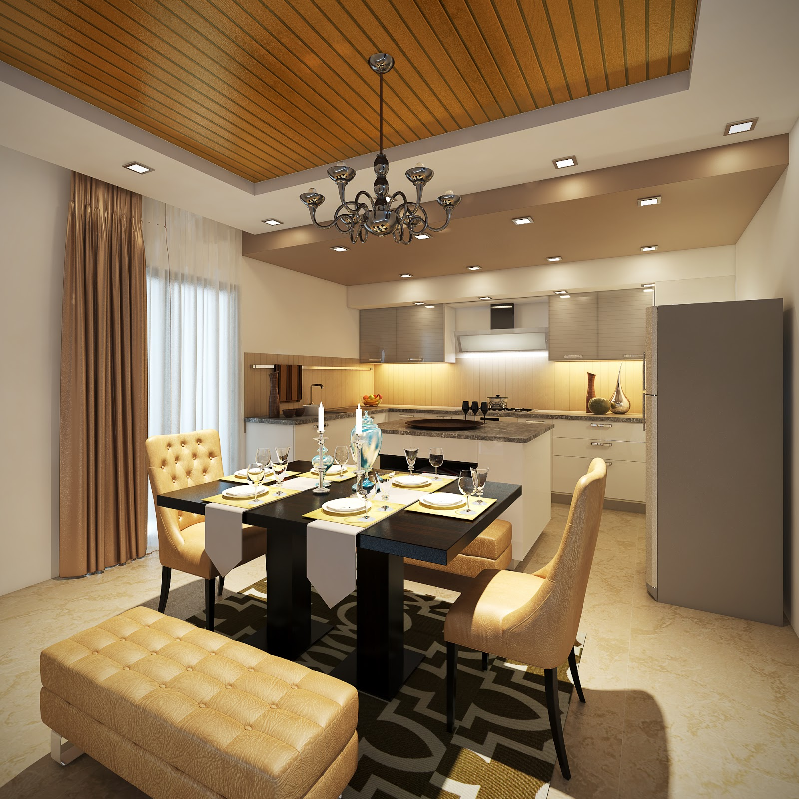 3d Max Kitchen Interior Design: 3D Designer Architect Interior / Exterior (3ds Max, Maya