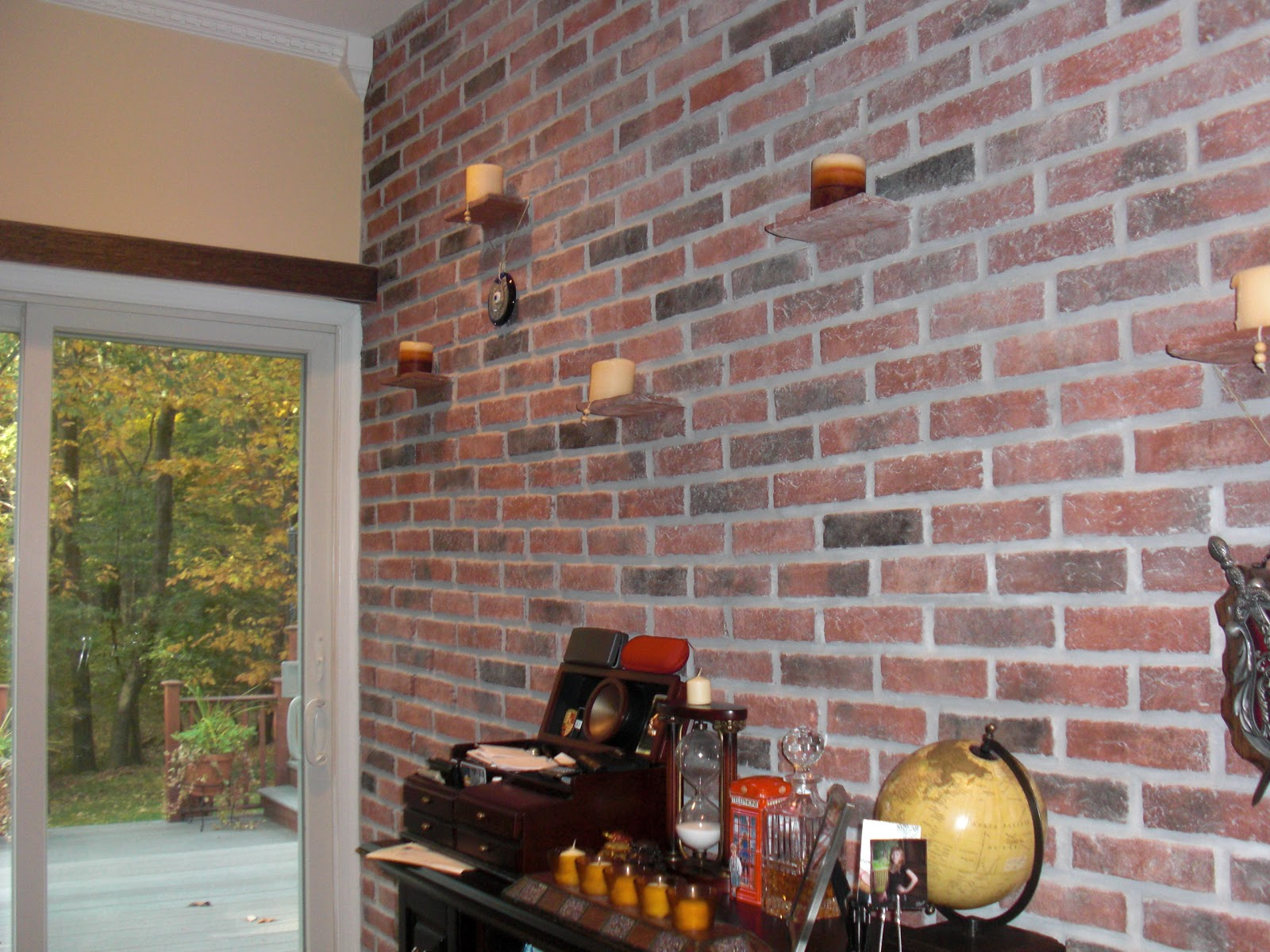 Brick Effect Interior Walls