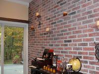 Brick Effect Interior Walls