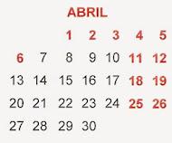 Calendario Escolar 2014/15