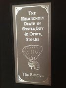 Since I am a fan of Tim Burton's movies, I found this small and dark book .
