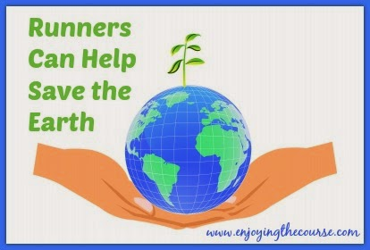 Runners can help save the Earth