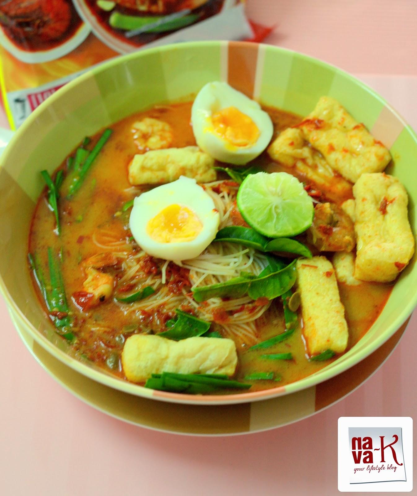 nava-k: Mee Siam (Spicy Rice Vermicelli)