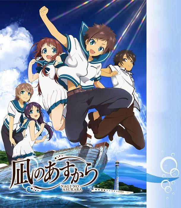 8/9. (Tie) Nagi no Asukara (Nagi-Asu: A Lull in the Sea)/Tonari no Seki-kun: The Master of Killing Time