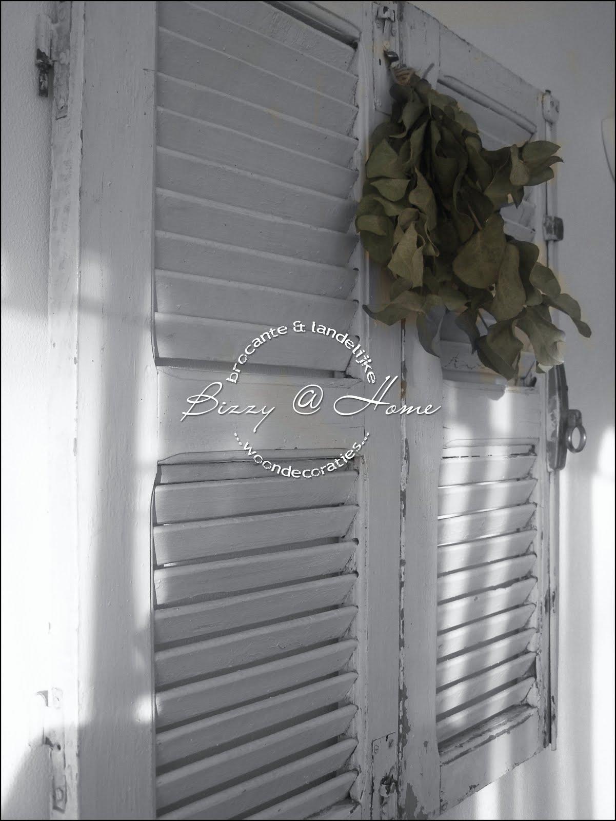 Bizzy home over bloemetjes plukken en brocante - Loodverf blanc reactie faire ...
