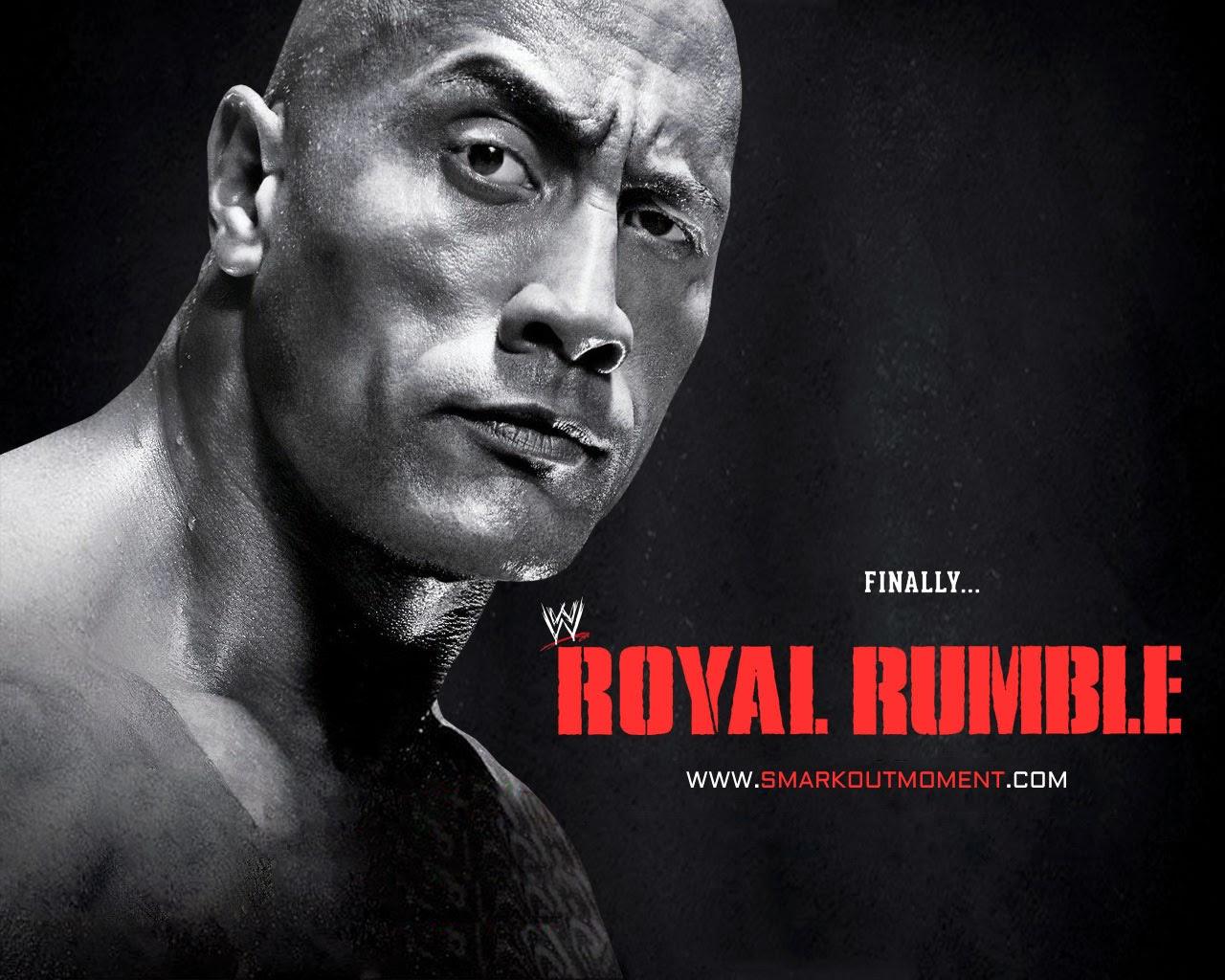 HD Wallpaper Royal Rumble WWE 2013 Poster Rock