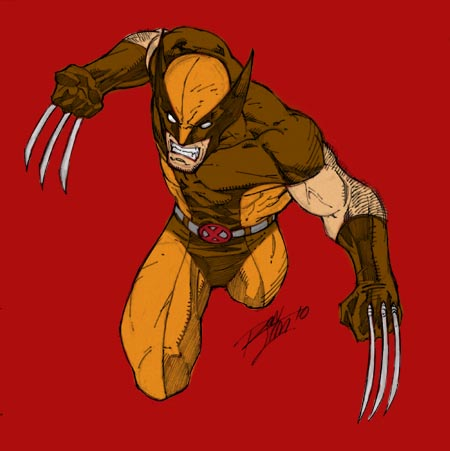 Criticism and Creativity: Brown Costume Wolverine