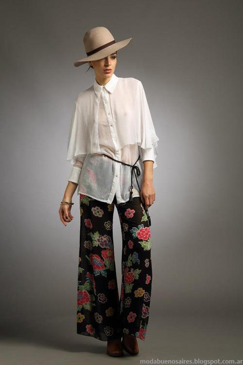 Blusas Sathya moda invierno 2013.