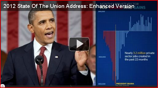 Obama State Of The Union Speech 2012:  Full Text, Video + Infographics