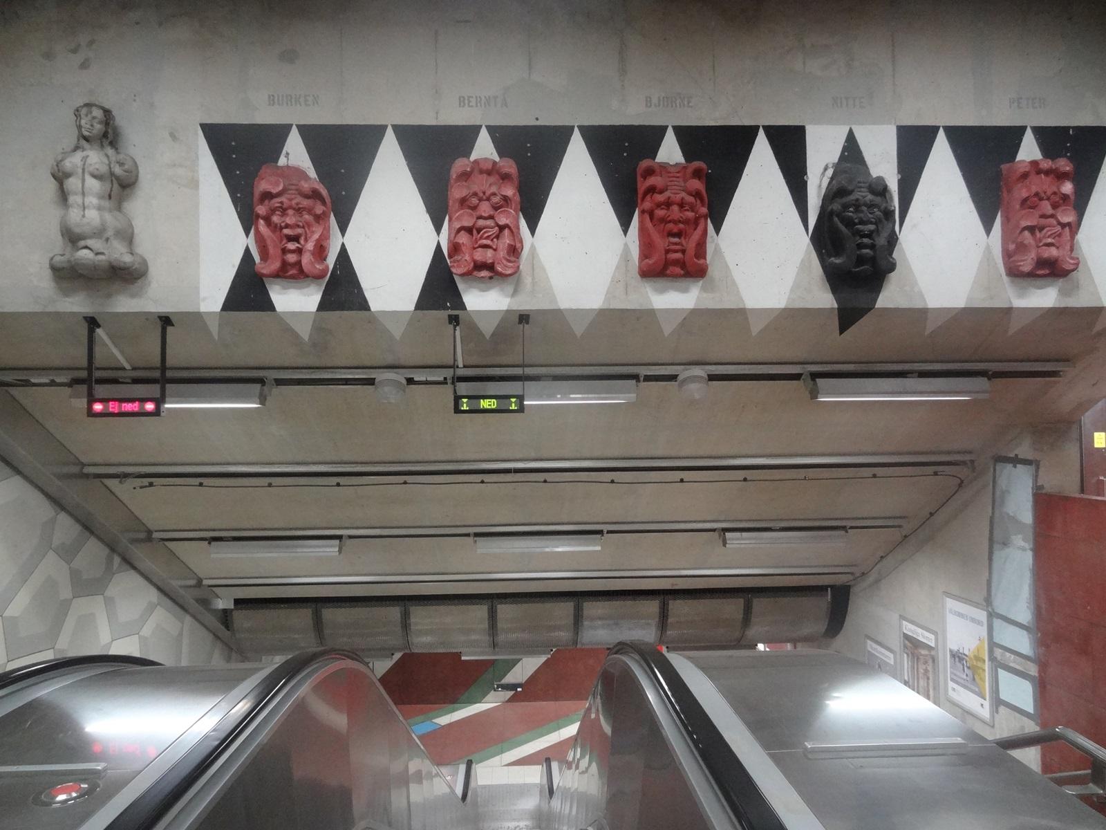 25 sztokholm stacja metra Kungsträdgården