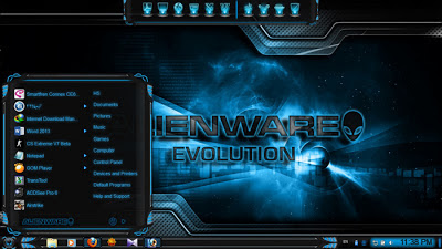 Download Theme Win7 Keren Alienware Evolution