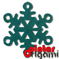 Origami Kristal Salju 2