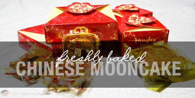 Freshly Baked Chinese Mooncake of Hongley