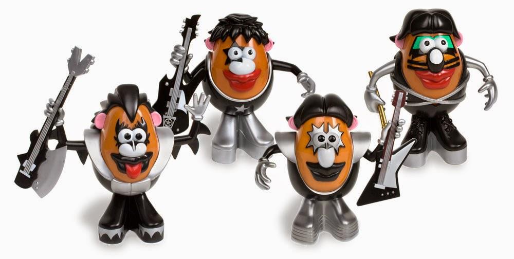 Kiss versión Mister Potato
