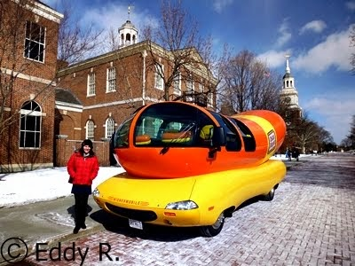 The Wienermobile - Henry Ford Museum