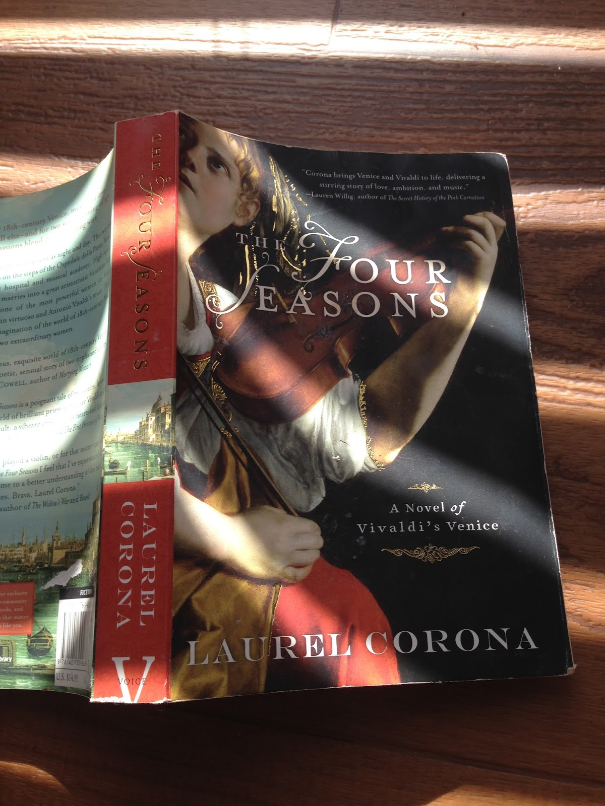 an analysis of the novel the four seasons by laurel corona The four seasons by laurel corona - book cover, description, publication history.