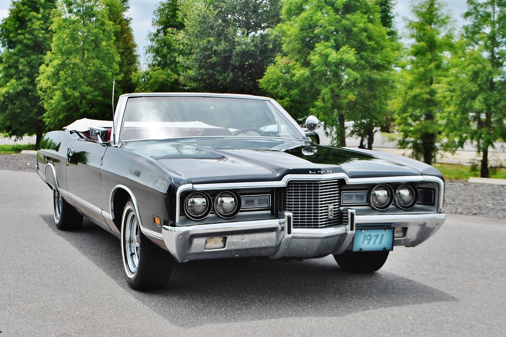 All American Classic Cars 1971 Ford LTD 2 Door Convertible
