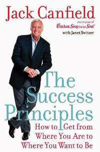Portada original de Los principios del éxito, de Jack Canfield