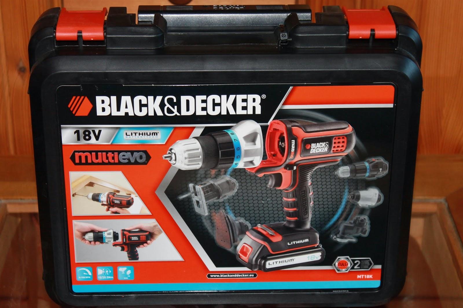 mimmi s teststrecke multievo von black decker sowie aufsatzk pfe im test. Black Bedroom Furniture Sets. Home Design Ideas