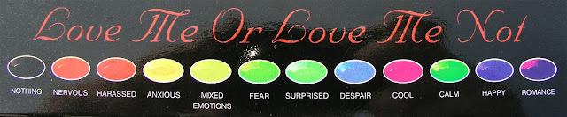 Mood Bracelet Color Meanings3