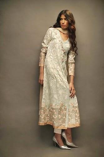 Sania Maskatiya Eid Collection 2014