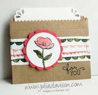 Stampin' Up! Birthday Blooms gift card holder 2016 Occasions Catalog Sneak Peek #stampinup www.juliedavison.com