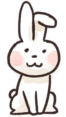 ウサギのイラスト(動物)