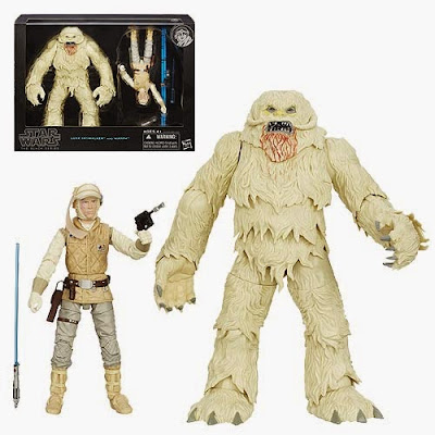 "Star Wars ""Hoth"" Luke Skywalker with Wampa Deluxe Black Series 6"" Action Figure Set"