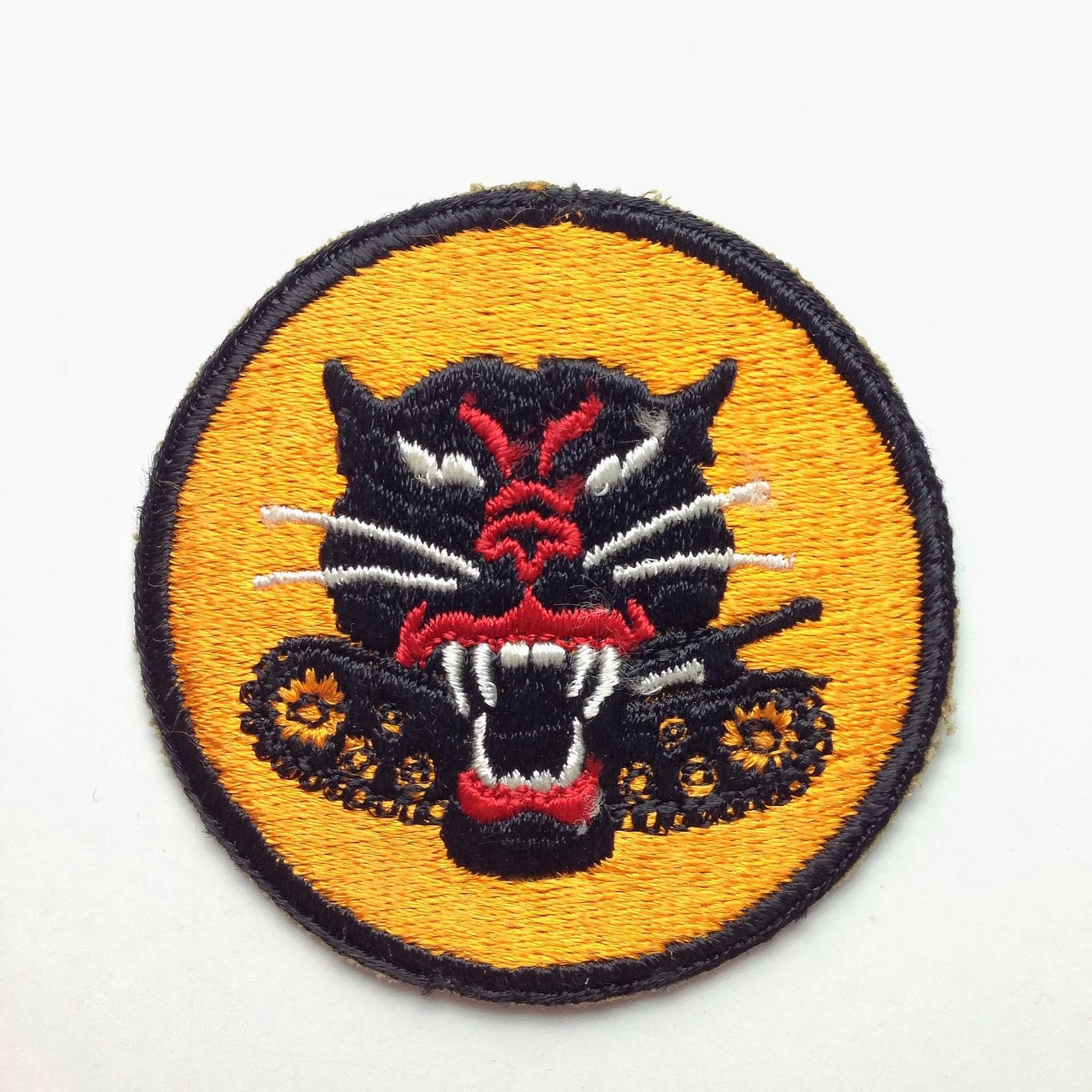 802nd Tank Destroyer Batallion Patch