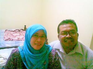 Ketua DPC.PPP Kab. Wonogiri bersama istri