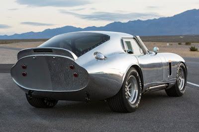 Shelby Cobra Daytona Coupe 50th Anniversary Continuation (2015) Rear Side 1