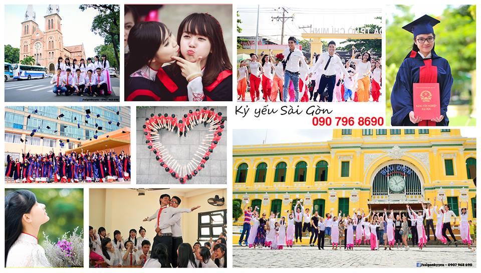 Chụp ảnh kỷ yếu Sài Gòn