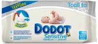 Toalhitas Dodot Sensitive