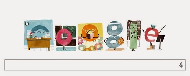 Hari Ini Google Doodle Merayakan Hari Guru Nasional