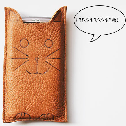Cat Phone Sleeve DIY