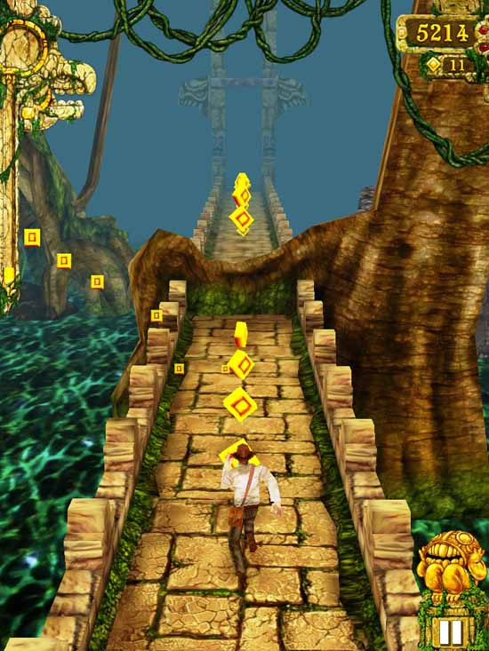 free games to play for kids temple run