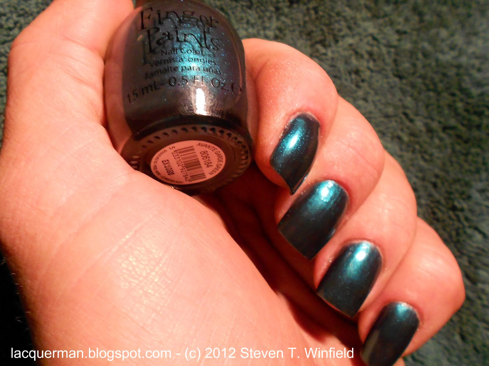 Lacquer Man: NOTD - THE Green I\'ve Searched For! *UPDATED*