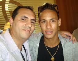 O Jornalista Cristovão MARINHEIRO e Neymar