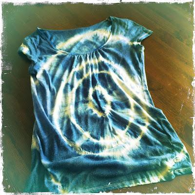 DIY Das mach ich selber! Batik T-Shirt DIY