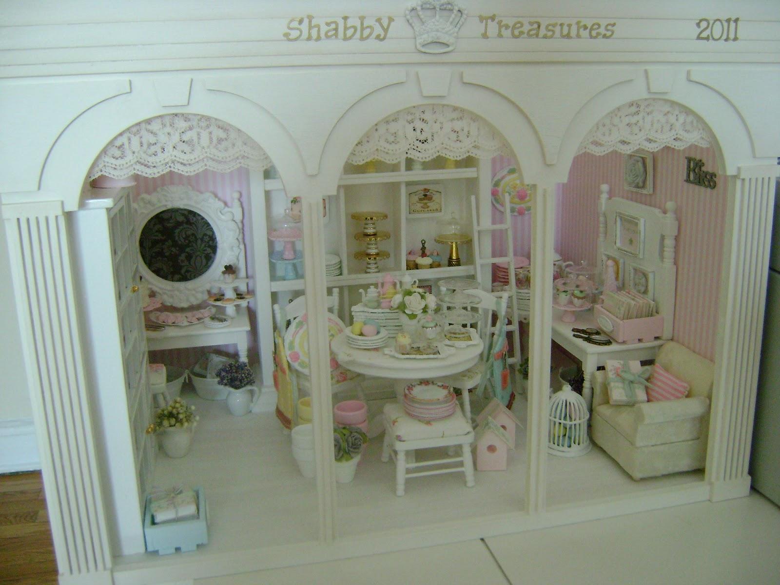 baking in miniature miniature shop shabby treasures. Black Bedroom Furniture Sets. Home Design Ideas